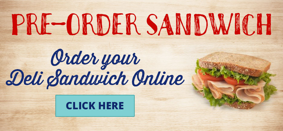 Order your deli sandwich online